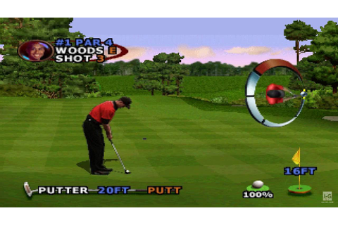 Tiger Woods PGA Tour 2000 PS1 Gameplay HD - YouTube