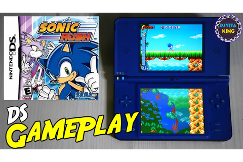 Sonic Rush NDS/Nintendo DS/DSi XL GamePlay [4K] - YouTube