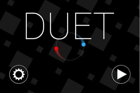 Test de Duet Game sur iPhone