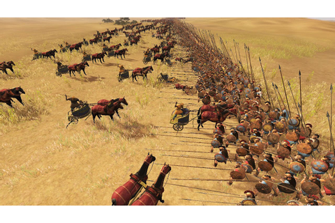 100 CHARIOT VS 2000 PIKEMAN - MASSIVE BATTLE TOTAL WAR ...