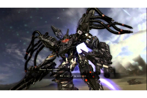 Armored Core Verdict Day Mission 10 - YouTube