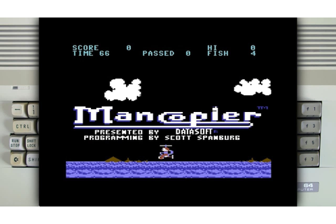 Mancopter on the Commodore 64 - YouTube
