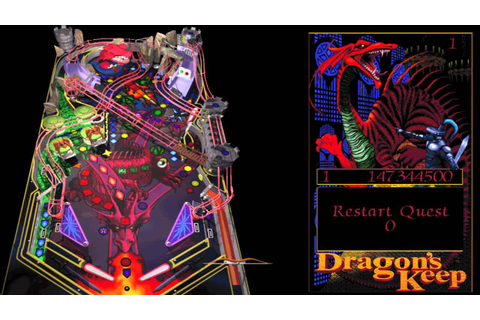 Full Tilt! Pinball - Dragon's Keep - YouTube