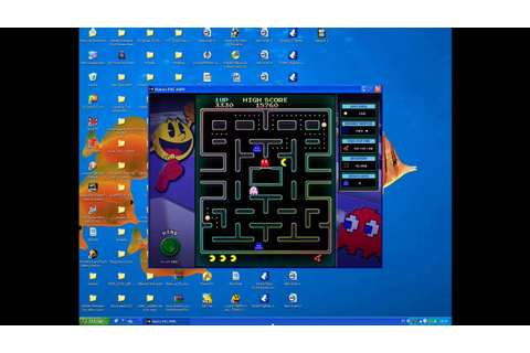 NAMCO ALL-STARS PAC-MAN PC GAME - YouTube