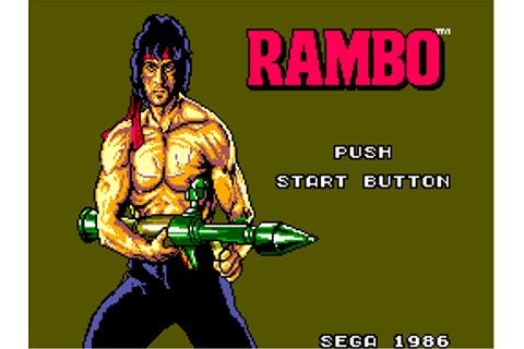 Rambo - First Blood Part II (USA) ROM