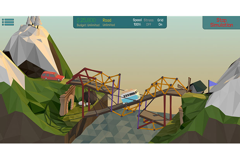 Poly Bridge Released | Rock Paper Shotgun