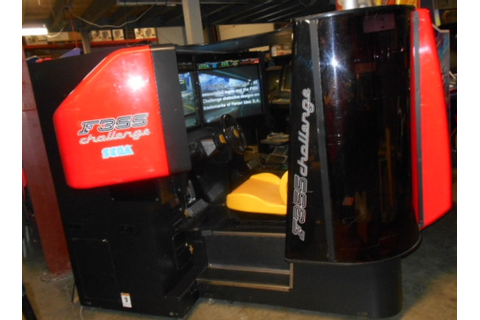 SEGA FERRARI F355 CHALLENGE DELUXE Arcade Machine Game for ...