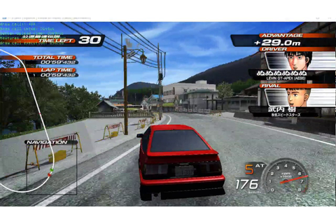 Initial D Extreme Stage [GAMEPLAY] [200-300% Speed ...