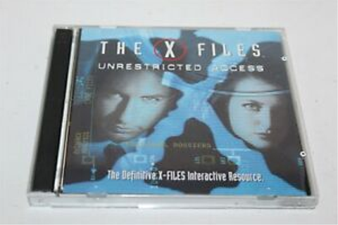 The X Files Unrestricted Access PC Game 1997 Fox ...