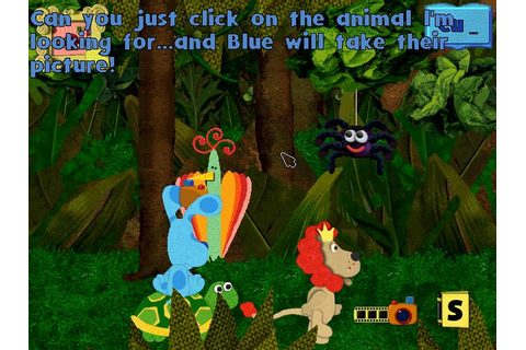 Blue's ABC Time (Windows) Game