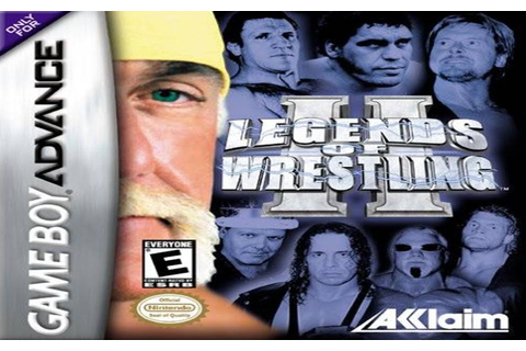 Legends Of Wrestling 2 GBA First Impressions | Wrestling ...
