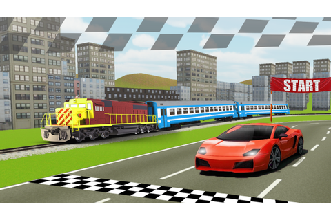 Train vs Car Racing - Professional Racing Game - Android ...