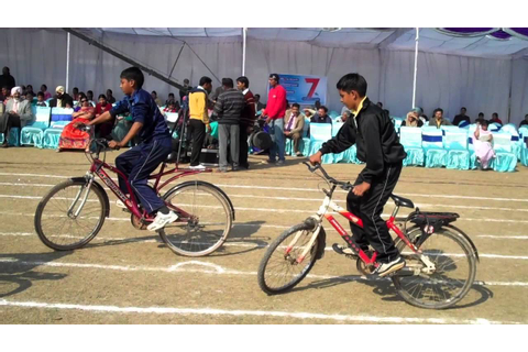 Banyan Tree School Sports Day-- Slow cycling race - YouTube
