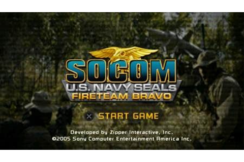 Socom US Navy Seals Fireteam Bravo (PSP) - Download Game ...