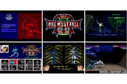 Caiman free games: One Must Fall: 2097 by Epic Megagames ...