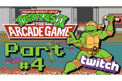TMNT 2 Arcade Game - Part 4: Dimension X Invading? - YouTube