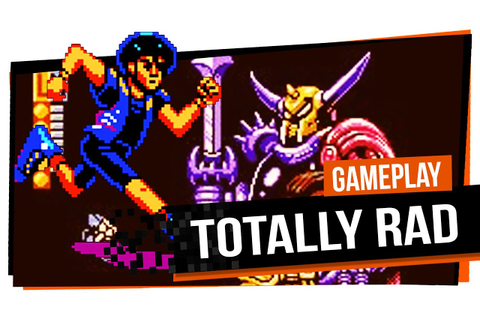 Totally Rad - NES - Gameplay - YouTube