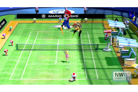 Mario Tennis Ultra Smash: Doubles Gameplay - YouTube