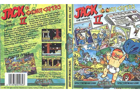 Jack the Nipper II: In Coconut Capers | Top 80's Games