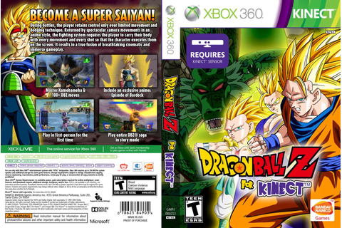 Dragon Ball Z For Kinect - Xbox 360 - Ultra Capas