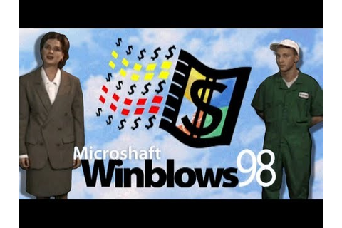 LGR - Microshaft Winblows 98 - Parody Program Review - YouTube