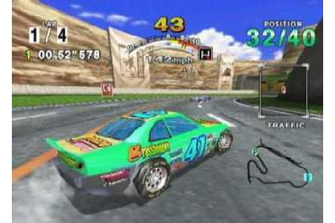 Daytona USA (2001) by AM2 Dreamcast game