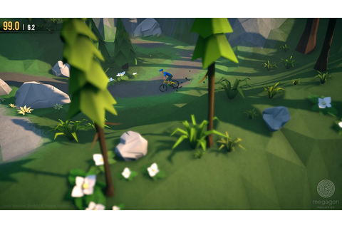 Indie Game Buzz | Lonely Mountains: Downhill. A biking ...