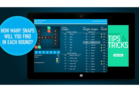 Snap Attack app for Windows in the Windows Store