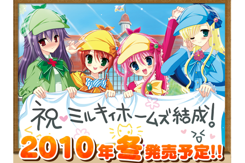 """Tantei Opera Milky Holmes"" PSP Game has been Anime ..."