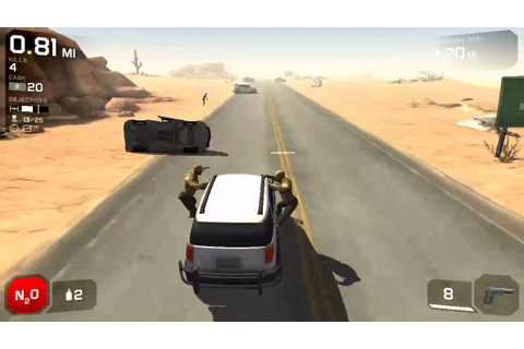 Best Car and zombie game for Android Zombie highway 2 ...