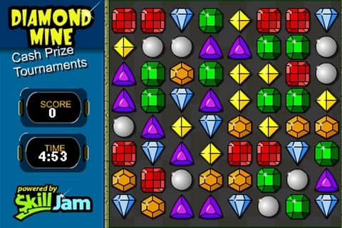 Diamond Mine Game - Match 3 games - Games Loon
