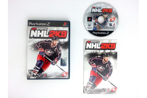 NHL 2K9 game for Playstation 2 (Complete) | The Game Guy