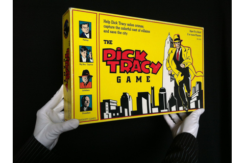 Dick Tracy Board Game COMPLETE 1990