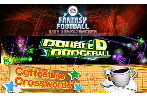 XBLA: Double D Dodgeball, Coffeetime Crosswords & Live ...