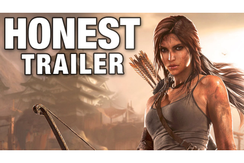 TOMB RAIDER (Honest Game Trailers) - YouTube