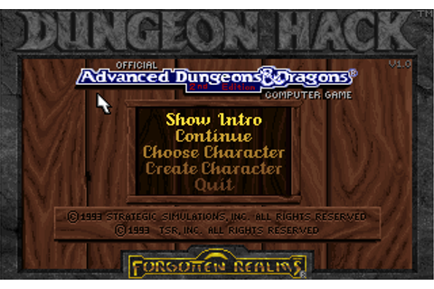Download Dungeon Hack | Abandonia