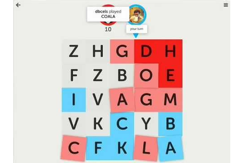 App Animation in Letterpress Game for iOS - YouTube