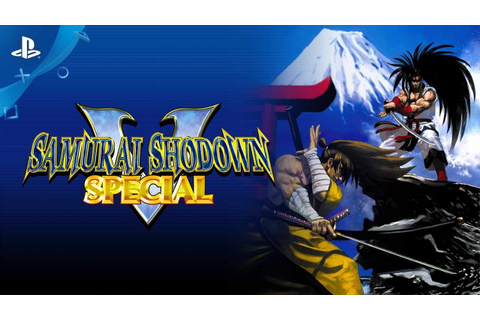 Samurai Shodown V Special - Launch Trailer | PS4 - YouTube