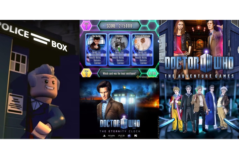 Top 5 Doctor Who Video Games - Blogtor Who