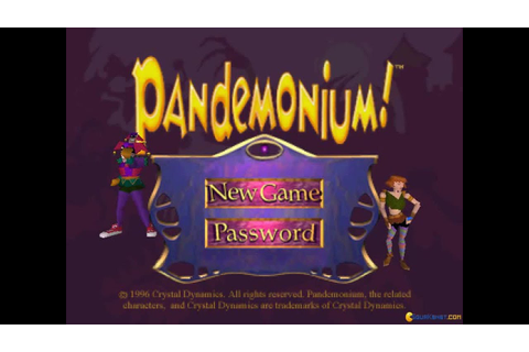 Pandemonium gameplay (PC Game, 1996) - YouTube
