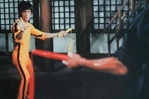 Bruce Lee's iconic yellow jumpsuit is up for auction - The ...