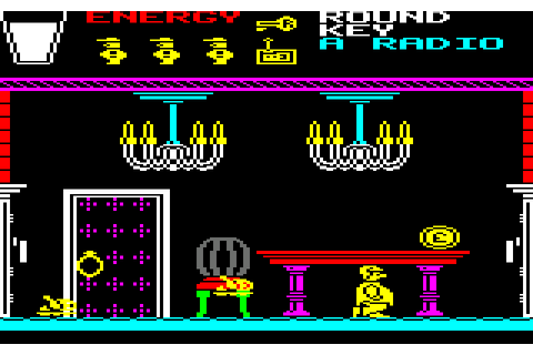 Pyjamarama (1985) by Mikro-Gen Amstrad CPC game