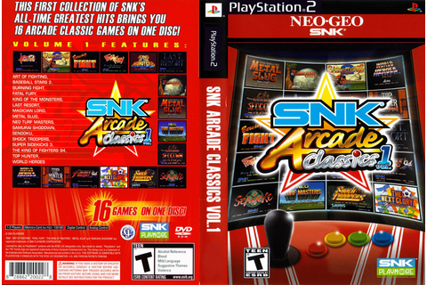 Available for Download: Baixar Jogo SNK Arcade Classics ...