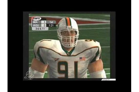 NCAA College Football 2K3 Xbox Gameplay_2002_07_15 - YouTube