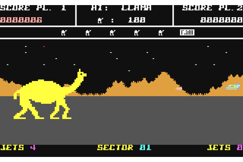 GreatBitBlog: Llamasoft Time! AMC Attack of the Mutant Camels