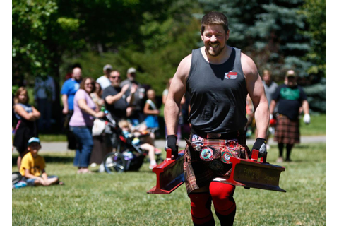 Highland games celebrate competition, camaraderie ...
