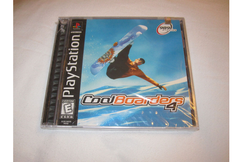 Cool Boarders 4 (Playstation PS1) Game Black Label, Brand ...