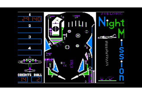 Night Mission Pinball for the Apple II - YouTube