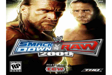 WWE SmackDown Vs Raw 2009 Game Download Free For PC Full ...