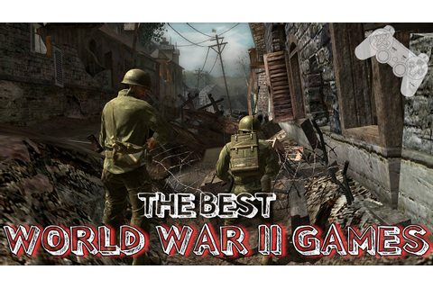 The Best World War 2 Game Ever..!! - YouTube